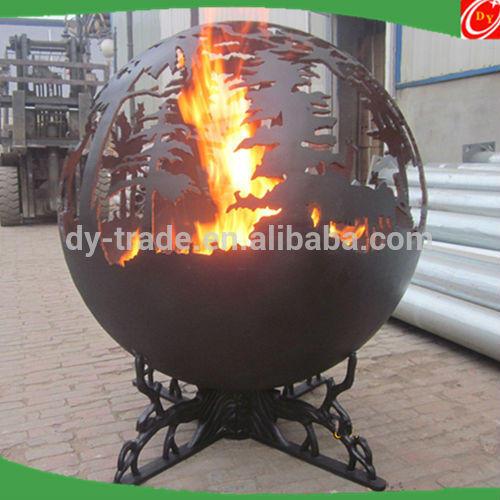 Decorative Steel Outdoor Fireplace