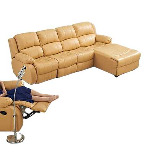 Living room sofas sectional recliner sofa faux leather recliner sofas with functional chaise