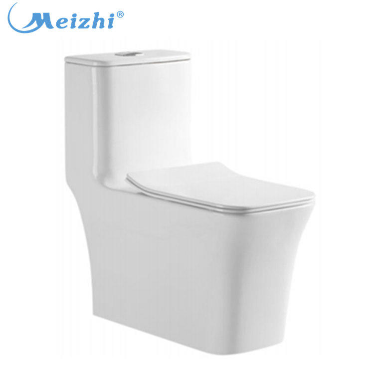 Made in China square ceramic bathroom wc toilet one piece