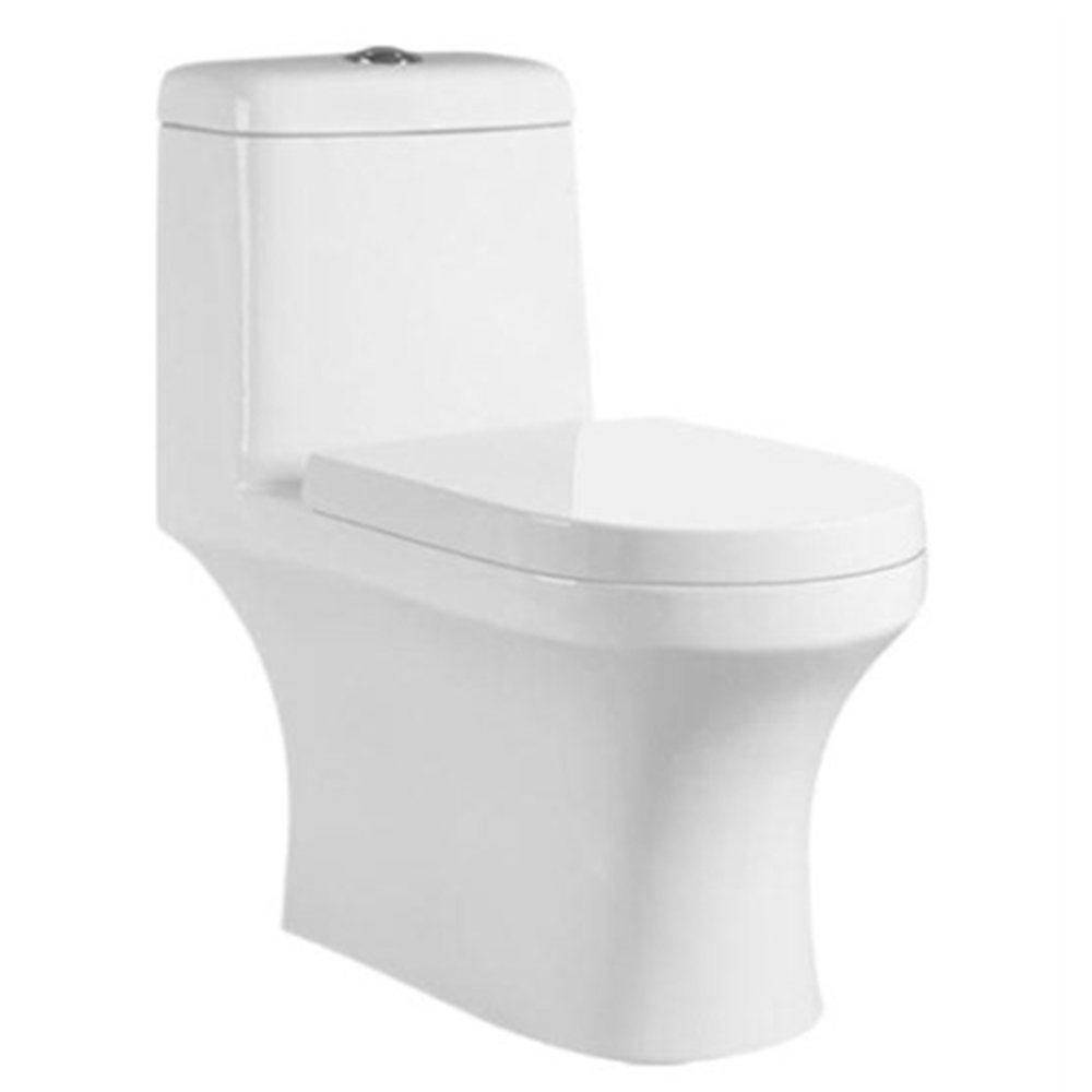 Chaoan one piece toilet parts siphonic bathroom ceramic s trap wc