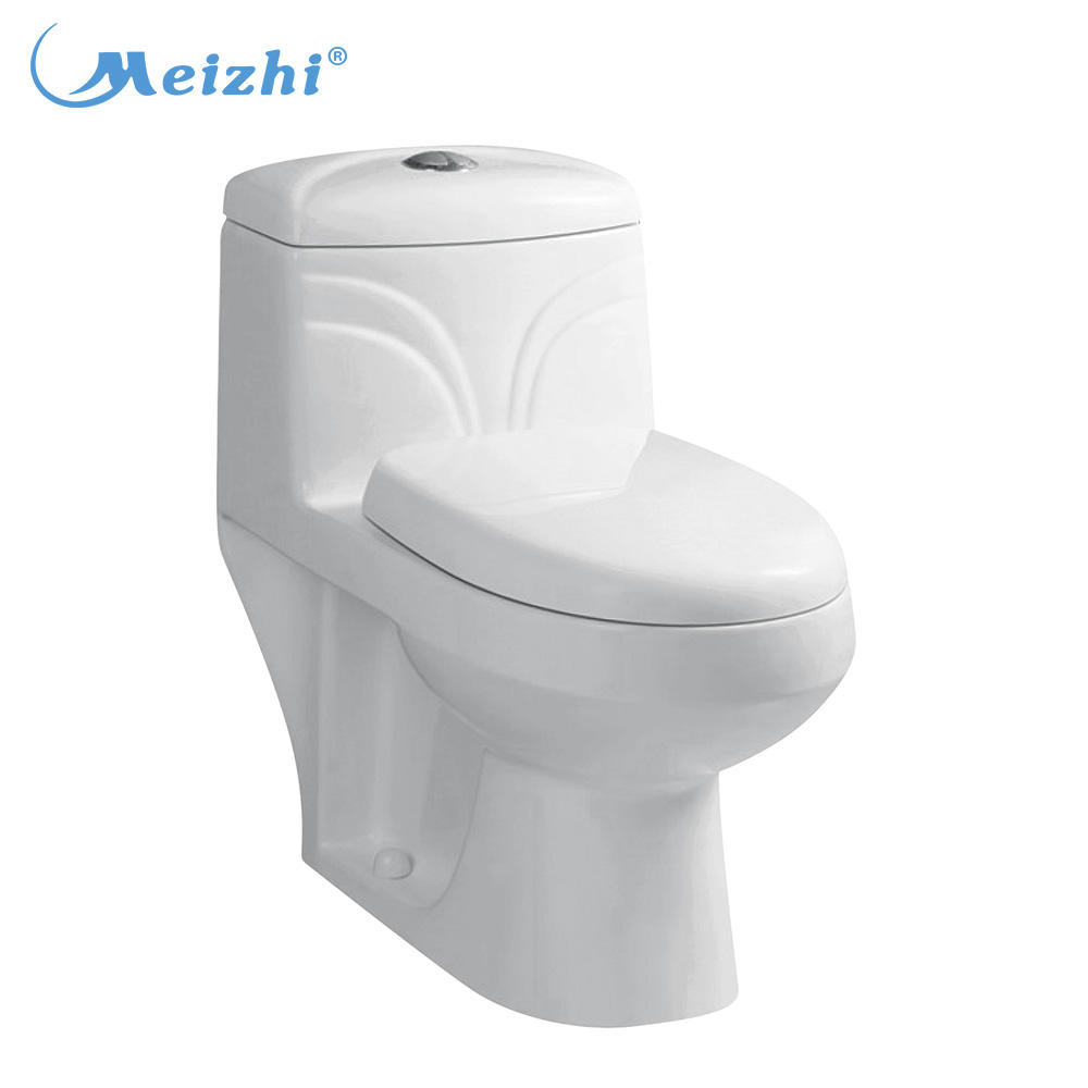 Ceramic indian type one piece water closet