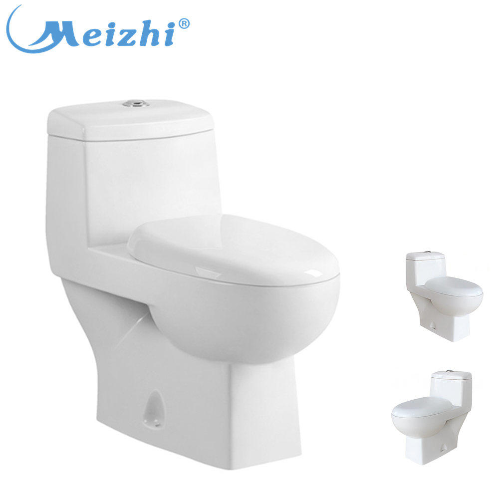 Washdown one piece S-trap or P-trap ceramic china toilet