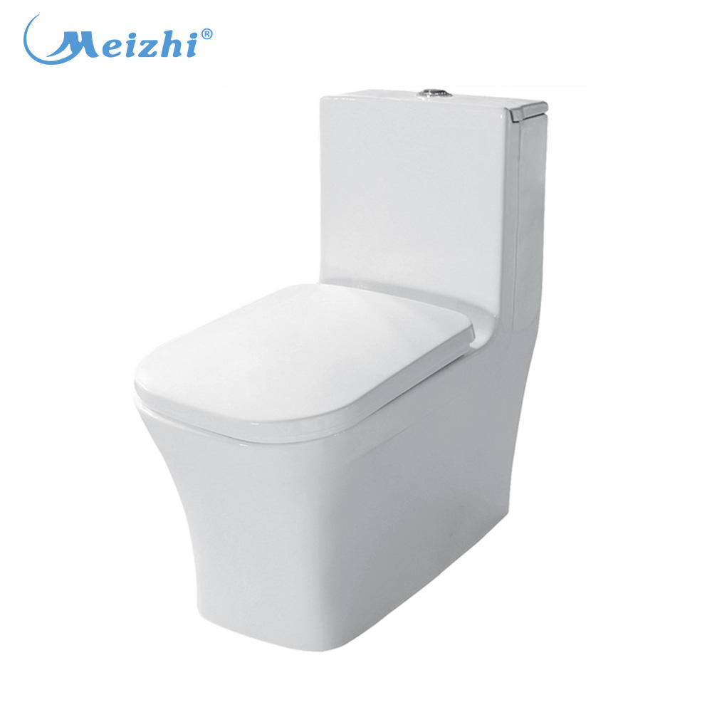 Chinese factory standard bidet toilet size with pp toilet seat