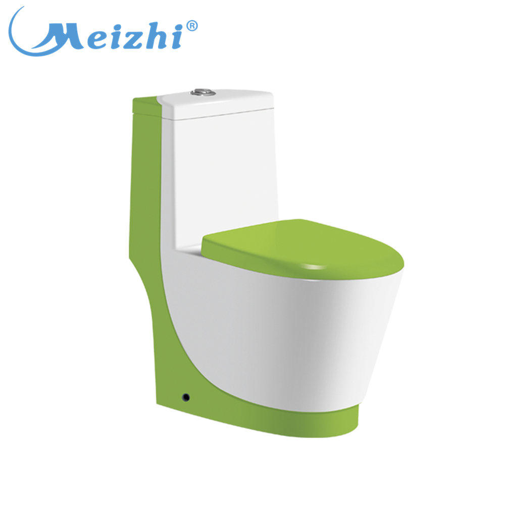 Sanitary ware novelty aqua color bathroom squat toilet seat