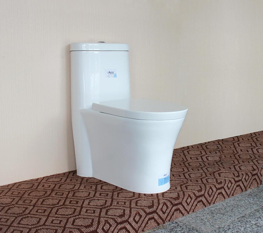 China Inexpensive Dual-Flush Bathroom Gravity Flushing Modern Toilet Seat