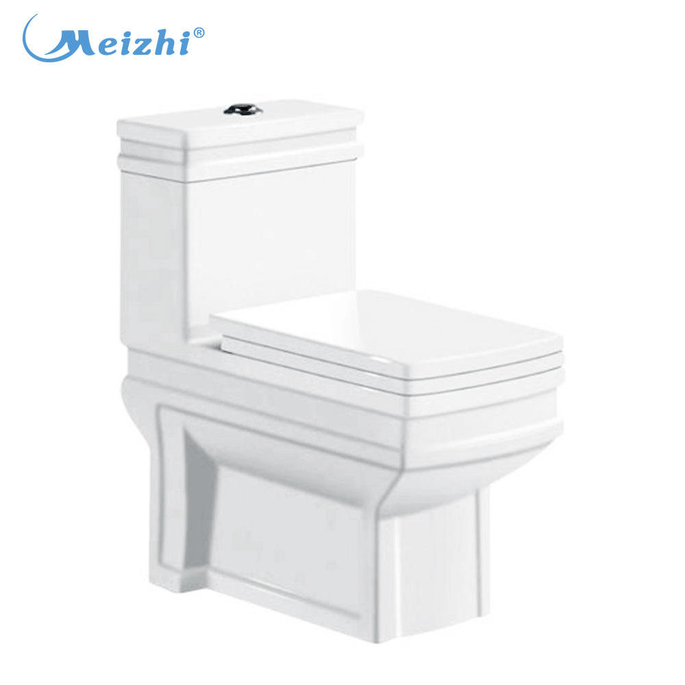 Washdown ceramic sanitary one piece wc toilette
