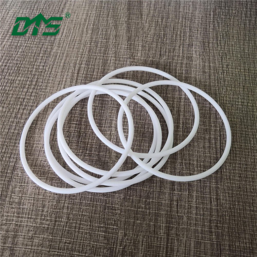 Wear-Resistant Ultra-Precision Waterproof Pure White PTFE O-Ring