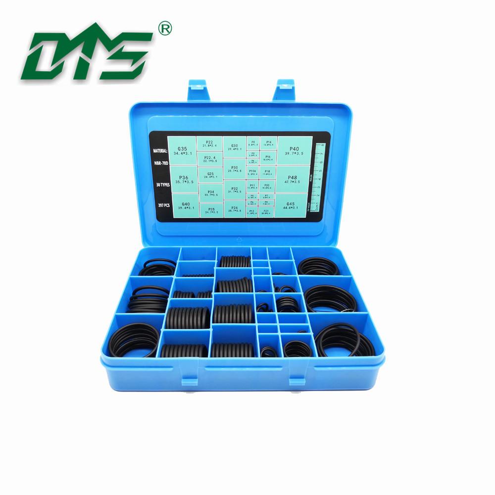 high quality seals AS568 Standard rubberinch O-ring box 382pcs