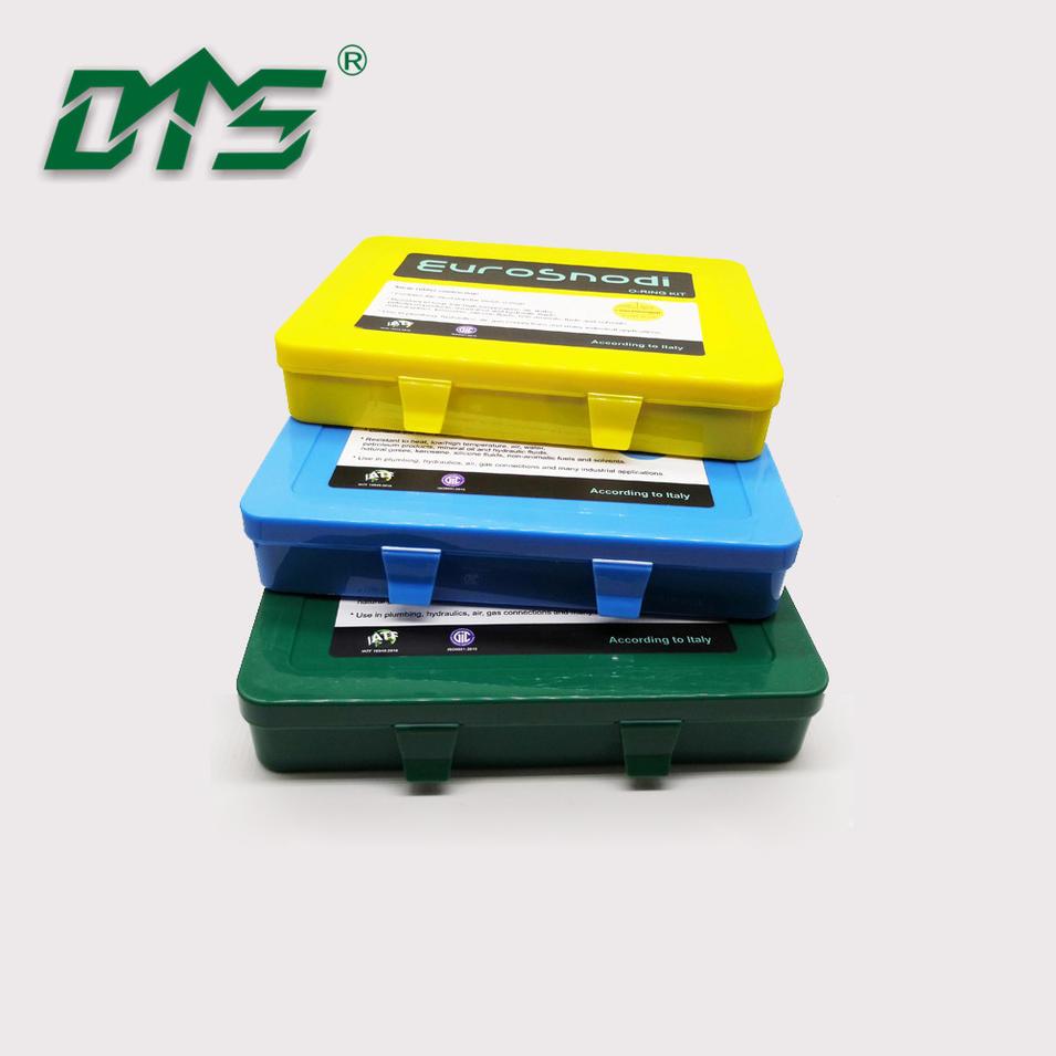 Excavator Seal O-Ring Repair Box Nitrile Rubber NBR70 NBR90 O-Ring Kit