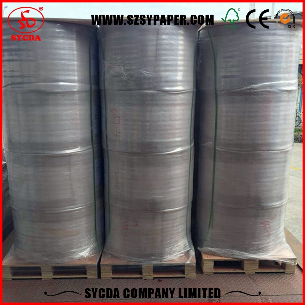 Blank Thermal Paper Reel jumbo roll thermal paper White Smooth Office Paper