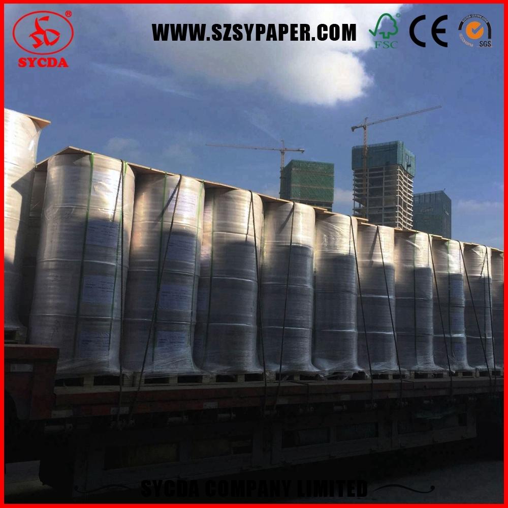 Factory direct price customized size jumbo rolls virgin tissue paper