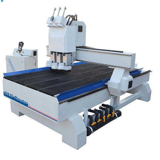 1325 Multihead Multispindle Multi Knife 3 Axis CNC Wood Router Price