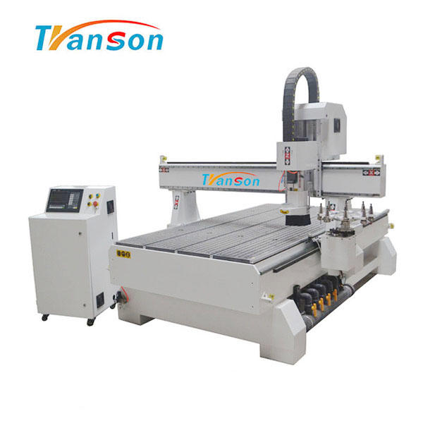 New Products Linear Syntec ATC CNC Router Wood Cutting Machine TSW1325ATC