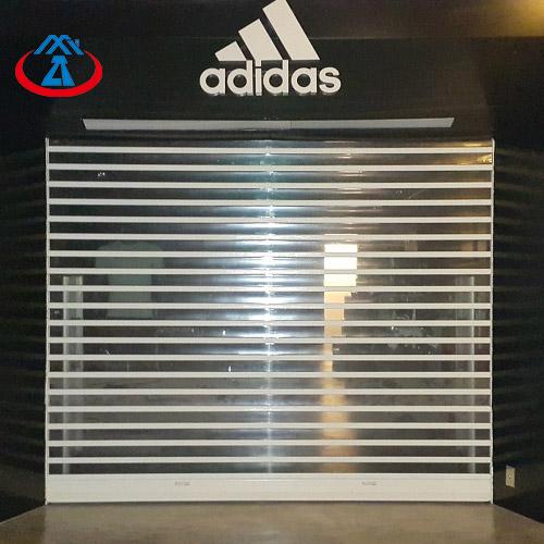 Polycarbonate Transparent Roller Shutter Door For Shopping Center