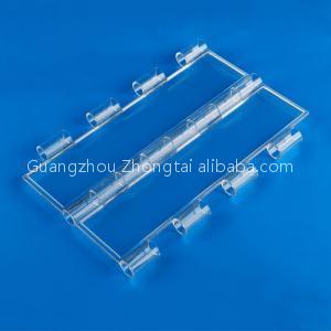 160mm transparent PC slat polycarbonate roller shutters slat for commercial building