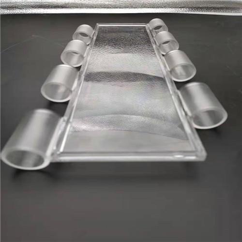A12 Tube PC slat polycarbonate/crystal roller shutters slat