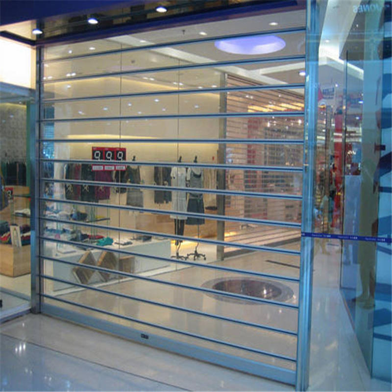 Good Vision Clear Transparent Vertical Polycarbonate Rolling Door