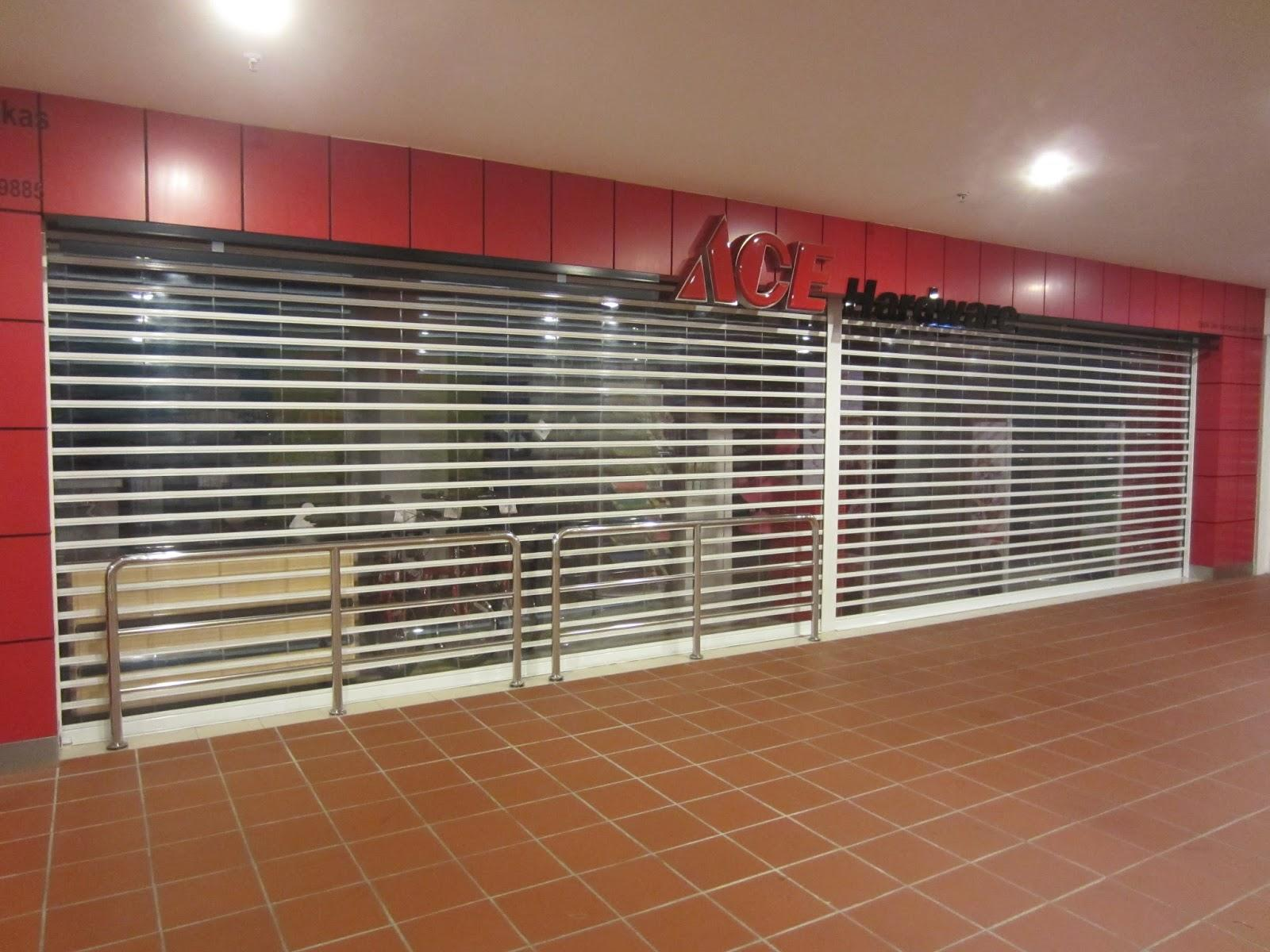 Polycarbonate Roller Shutter Door for Market and Shopping Mall With Aluminum Material Rolling Door Manufacturer