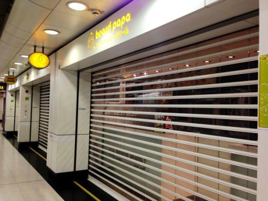 Commercial ClearPolycarbonateRoll UpDoor For Shop