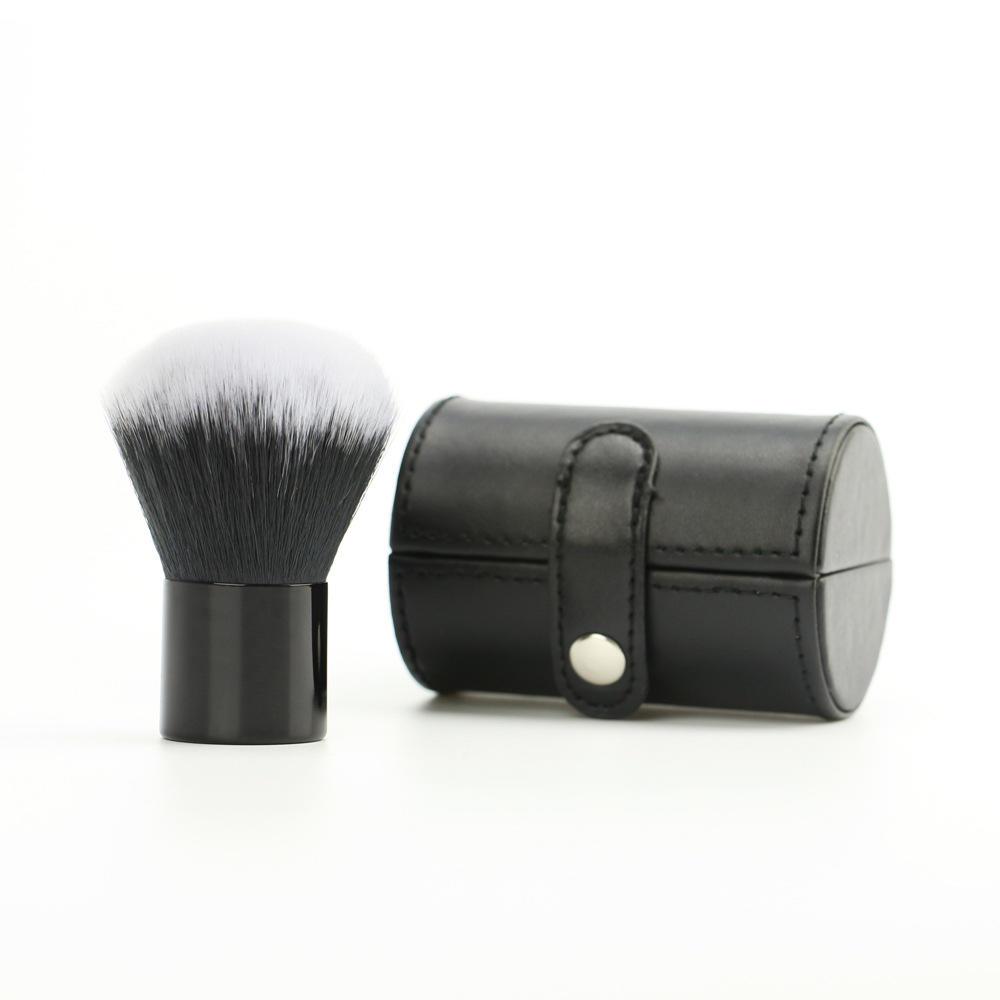 High Quality Professional Big vegan Makeup Loose powder Blush Kabuki brush