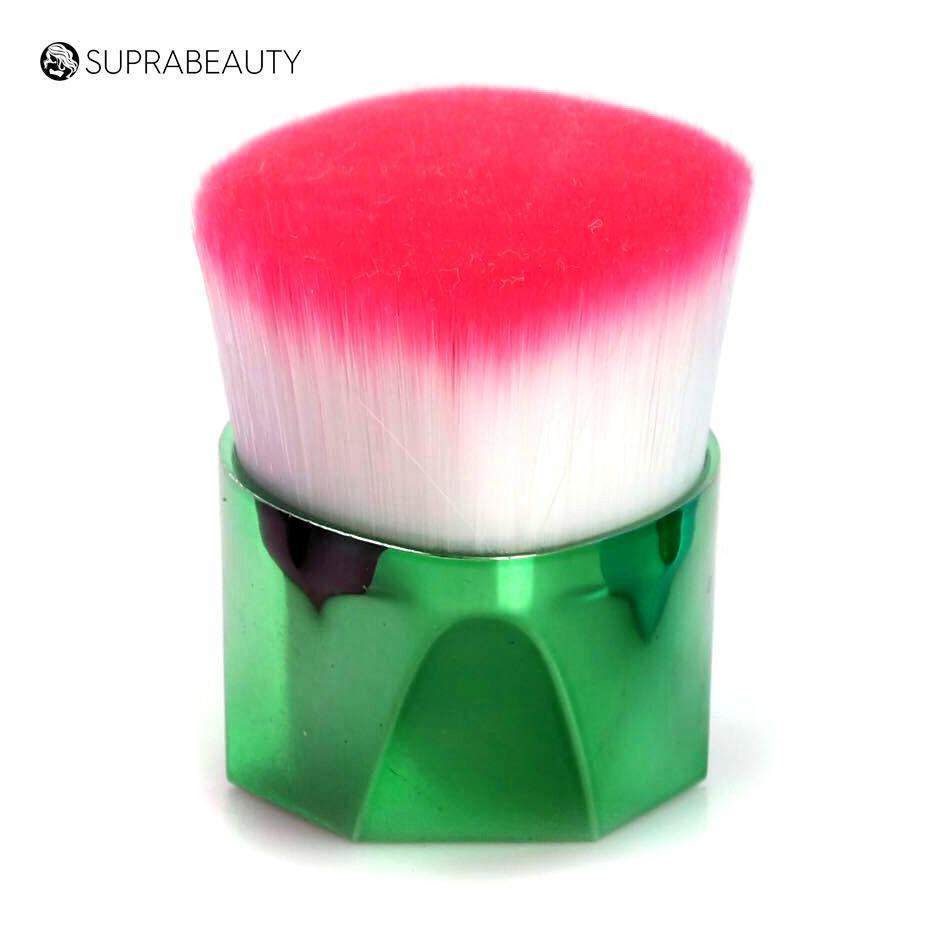 Flat top Large Brush Rainbow Symthetic Hair Single Foundation Kabuki Brush