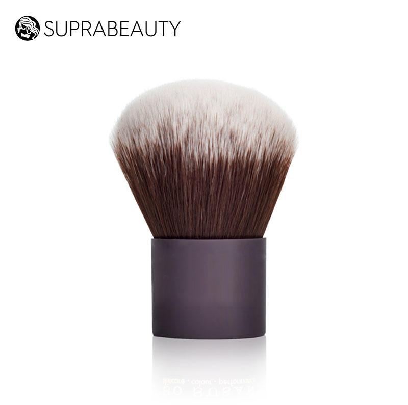 High quality handmade synthetic hair make up brush fluffy kabuki brush