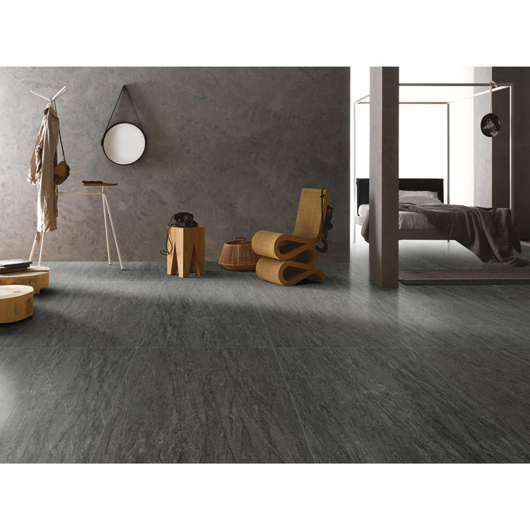 900X1800 mmm Dark gray ceramic floor tile