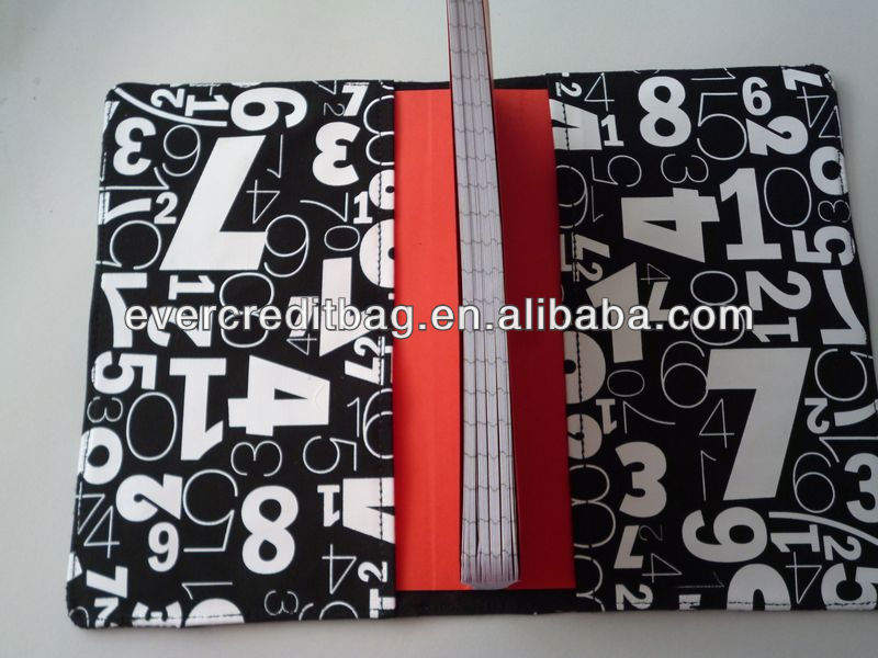 2013 Fashion Fabric Notebook Cover
