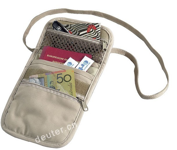 promotion neck strap wallet / trade-show neck wallet
