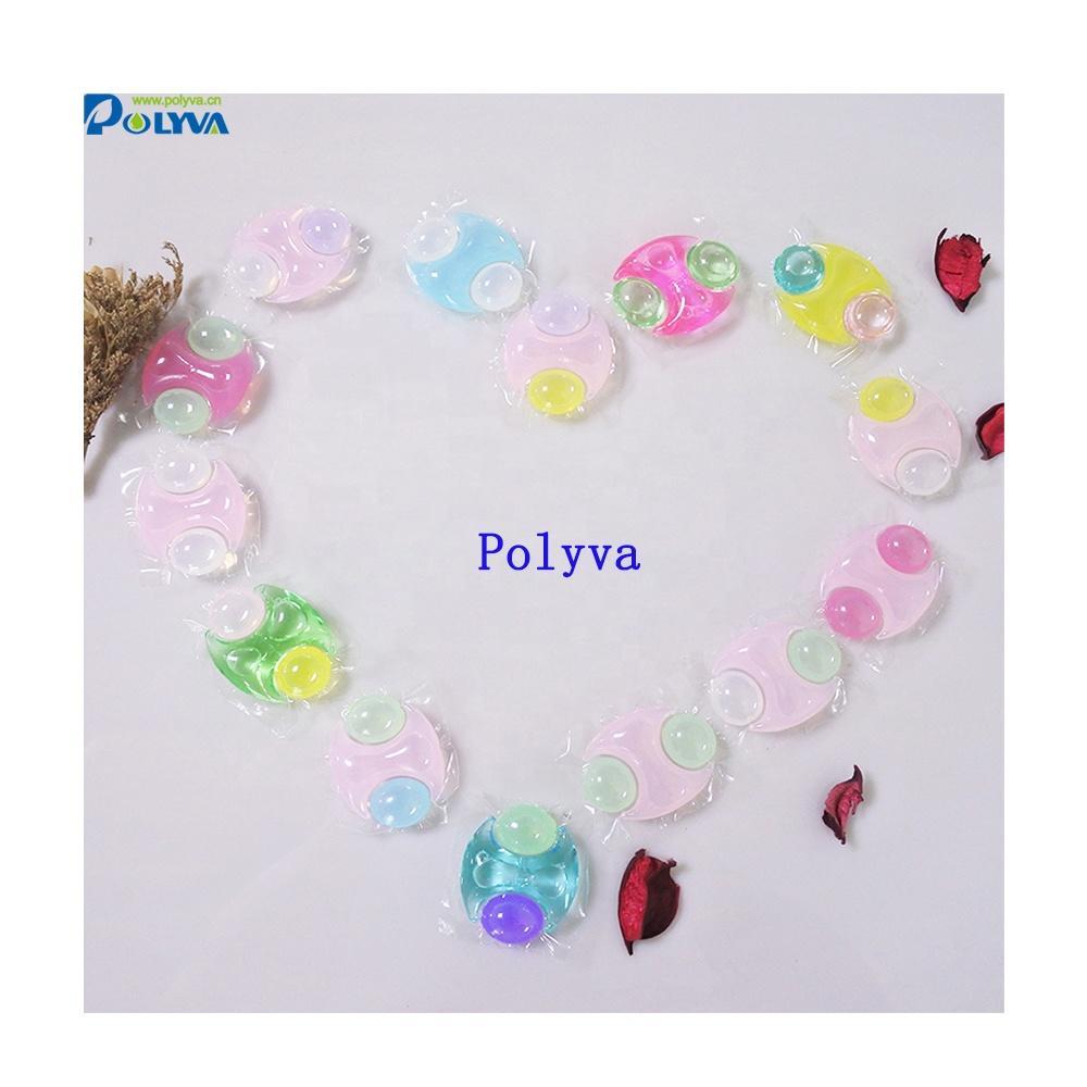 polyva liquid washing detergent capsules laundry pods