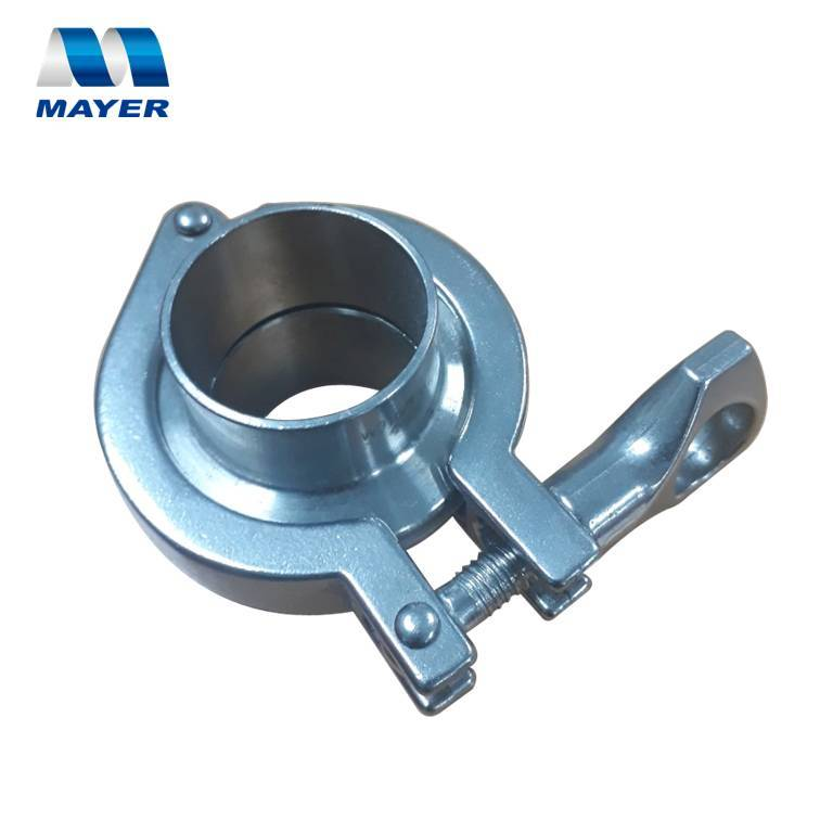 quick release clamp collar flanges sets stainless steel tri-clover 316L food grade