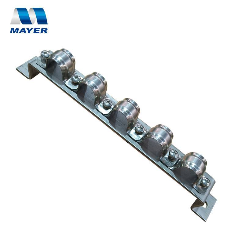 Stainless Steel parallel row saddle pipe clamps