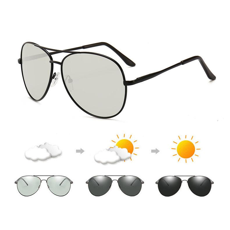 men new driving photochromic sunglasses polarized men fishing sunglasses with UV400