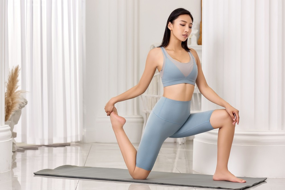 3D Senselast High Supportive Strong Stretchable and Recovery Yoga Sport Suit