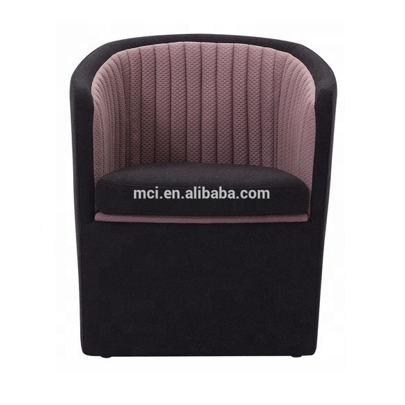 Home furniture Artificial leather booth seating new design sofa set reception couch