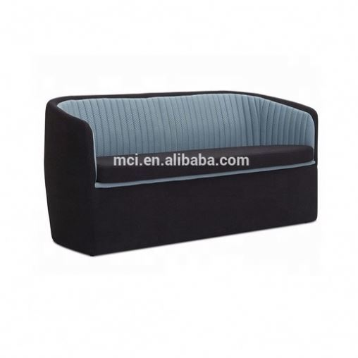 Leisure restaurant sofa , two seater couch living room sofa