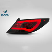 Vland Factory Car Accessories Tail Lamp for Verna 2010-2013 LED Tail Light With DRL+Reverse+Brake