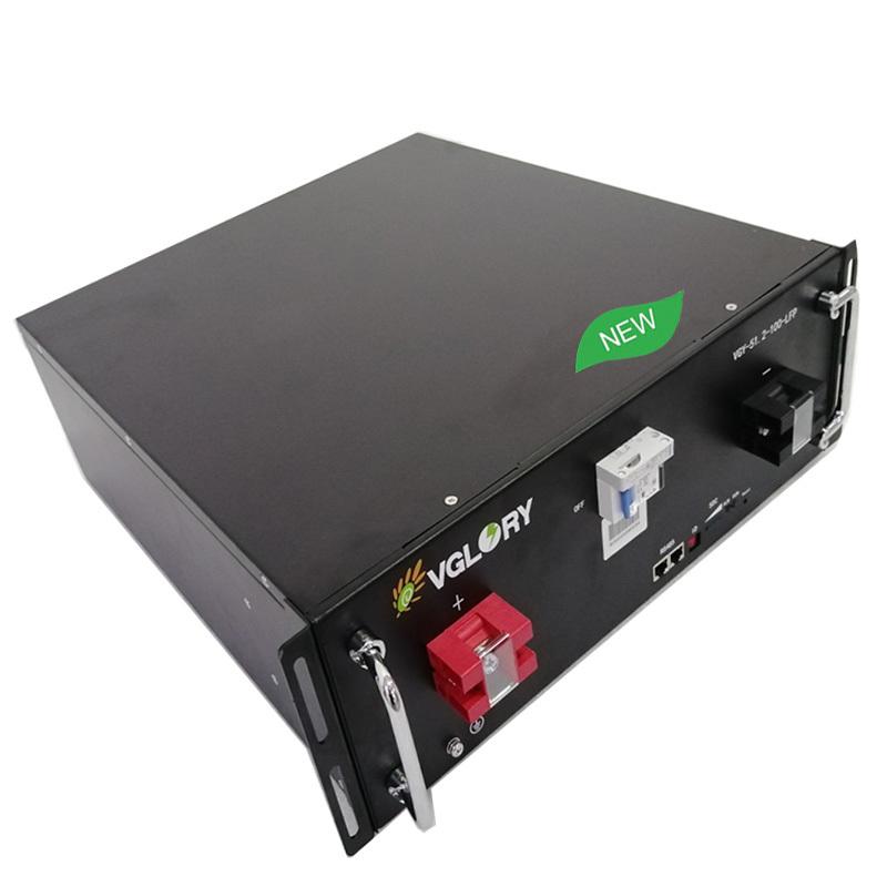 Wholesale high density 48v 100ah lifepo4 battery pack
