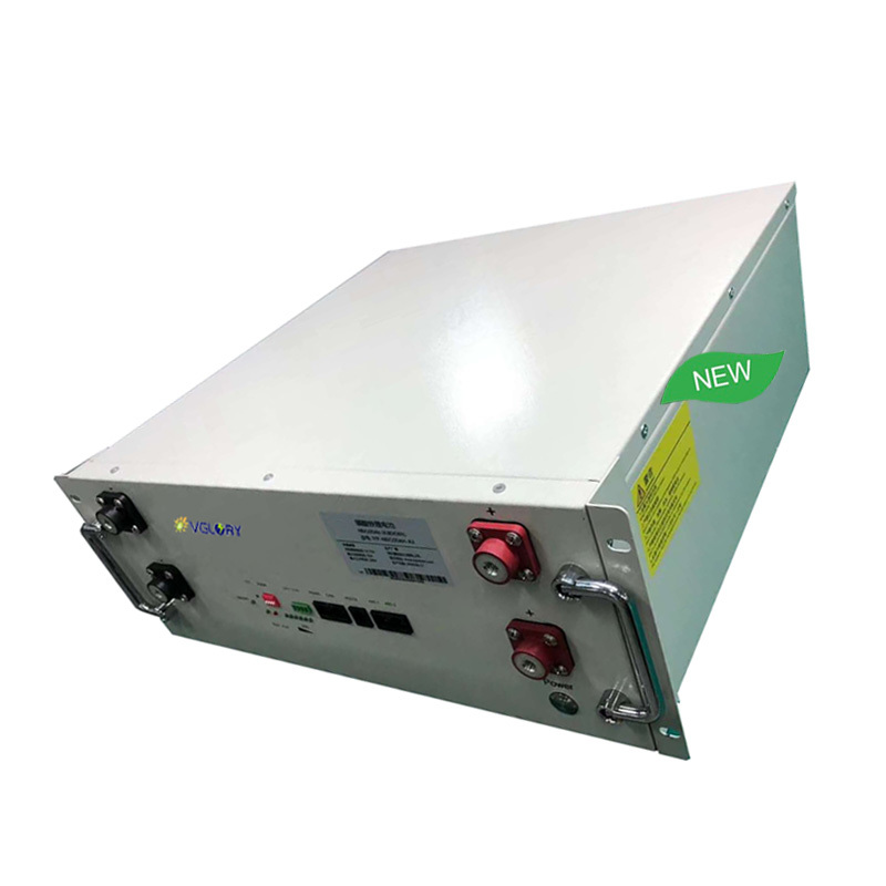 No pollution rechargeable deep cycle battery lithium 48v 100ah