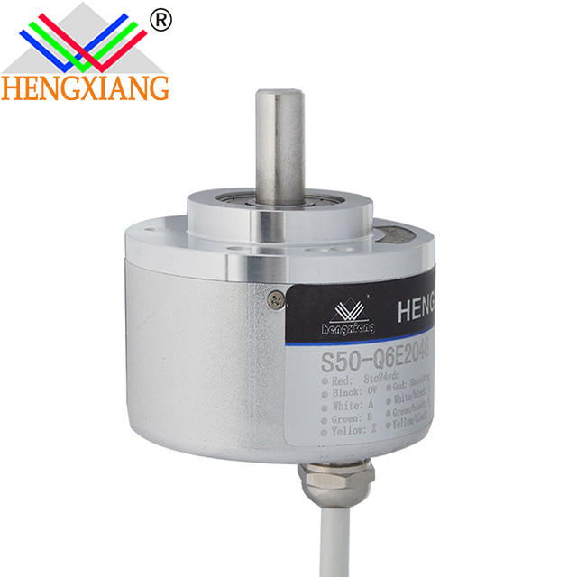 6mm optical encoder S50 series CNC Rotary Encoder Optical Incremental Sensor 250 pulse 250ppr 3 wires