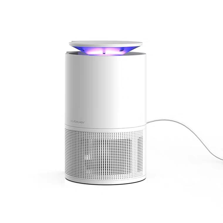Electric Mosquito Killer with Trap Lamp Chemical-Free USB Powered UV LED Light Photocatalyst Fly Bug Dispeller with Suction Fan