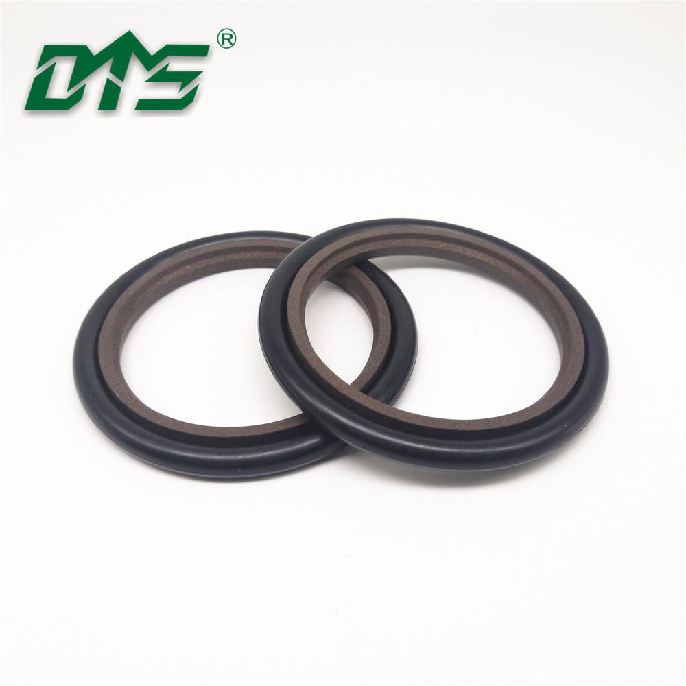 construction machinery excavator hydraulic HBTS rod step seal with nbr o ring