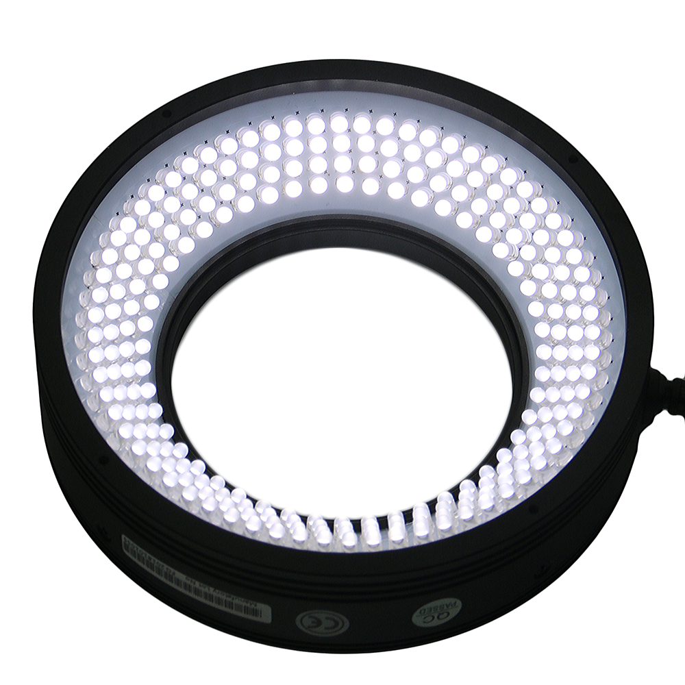 Flat ring led light machine vision in logistics