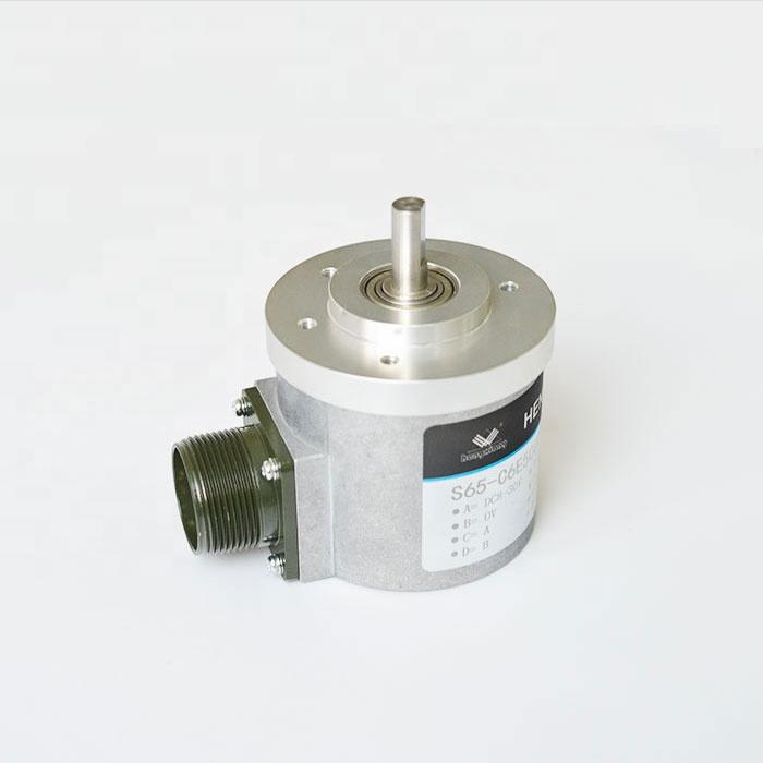 shanghai hengxiang encoder S65 Position Sensor/Rotary Sensor Solid Shaft 1024/2048 ppr difference output