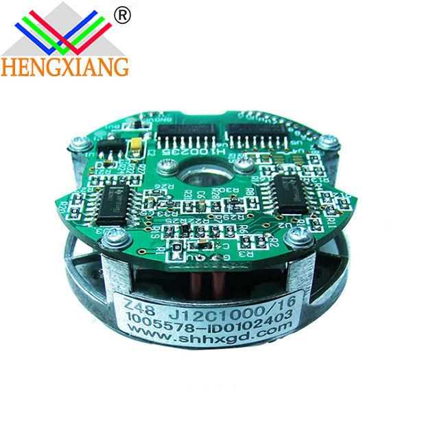 economy encoder low cost encoder Z48 Bearingless Encoders 8polesmodule 2500ppr with UVW singalfor servo motor