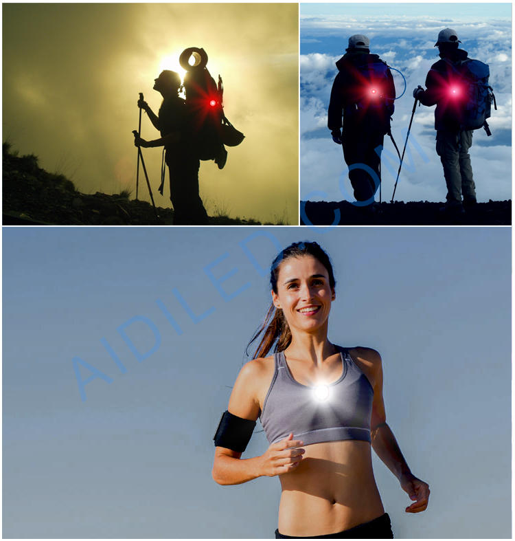 Led Small Light for Bicycle Shoes Night Running Safety Light