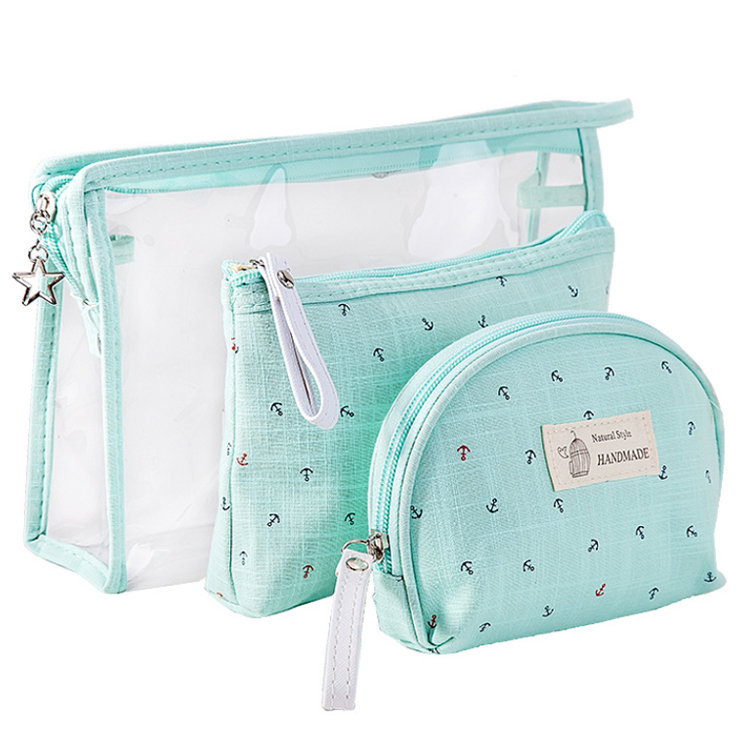 product-Osgoodway-Osgoodway2 Fashion Transparent PVC Cosmetic Accessories Bag Sets Wholesale Make up