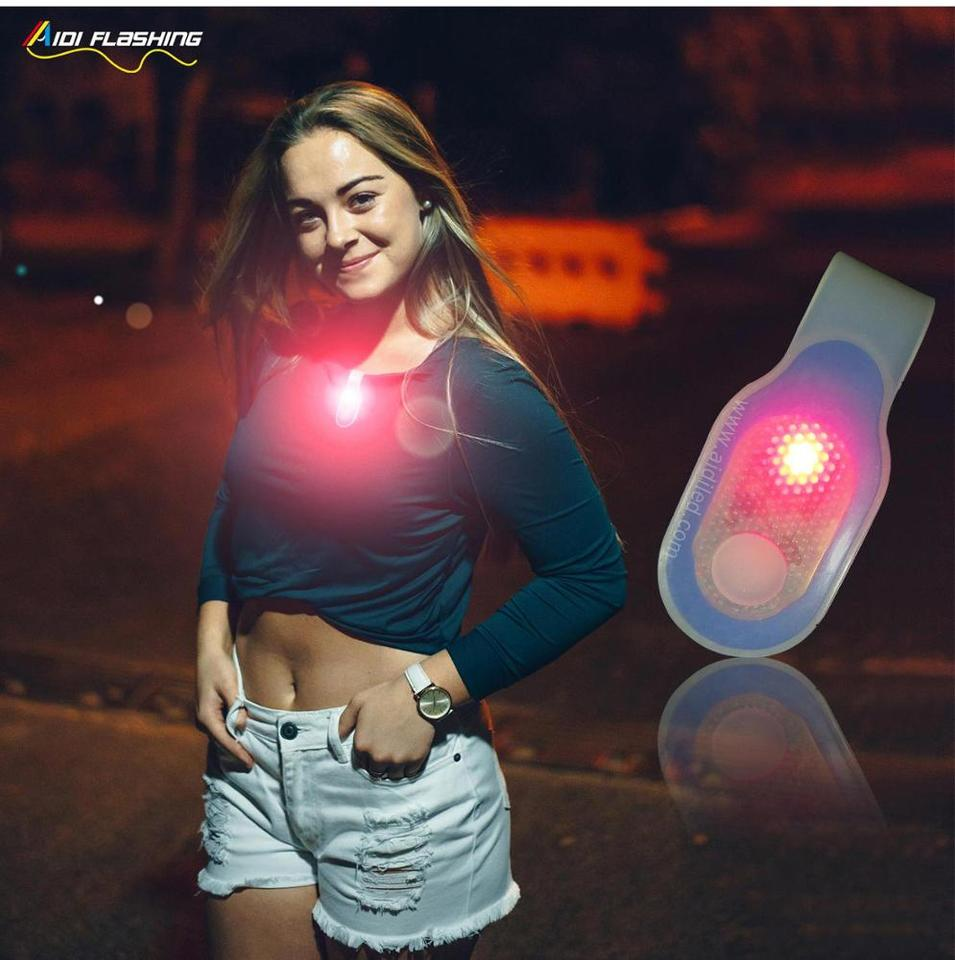 Silicone ABS Magnet outdoor promotion LED USB rechargeable magnet light