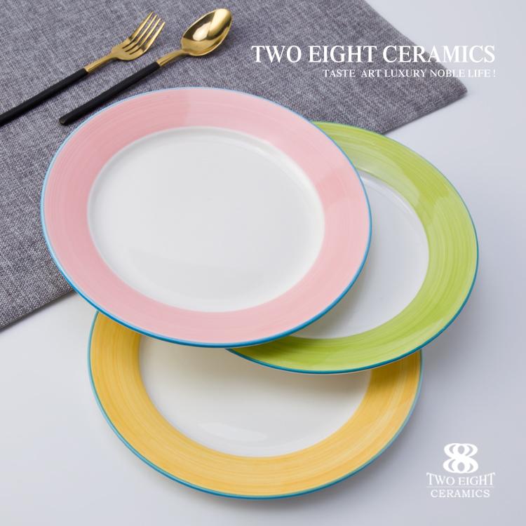plate wedding for sale color glazed stoneware dinnerware