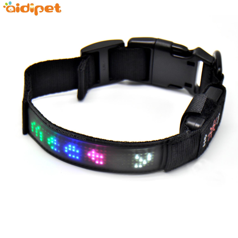Amazon Fashion LED Screen Dog Collar